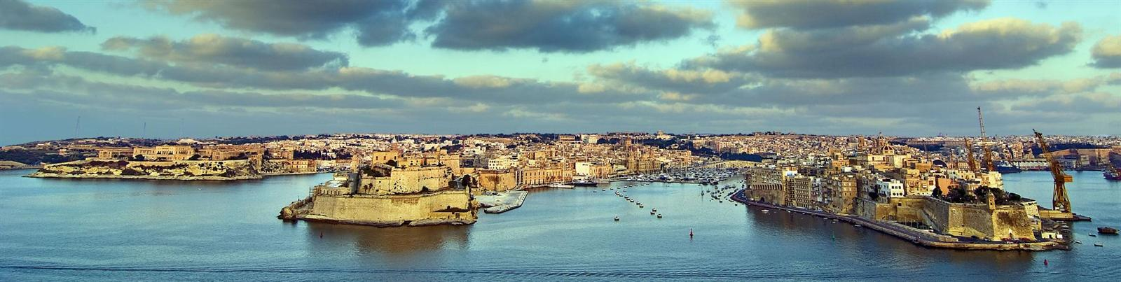 The Great Harbour of Valetta